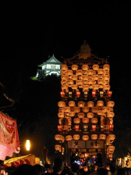 犬山祭り 犬山城