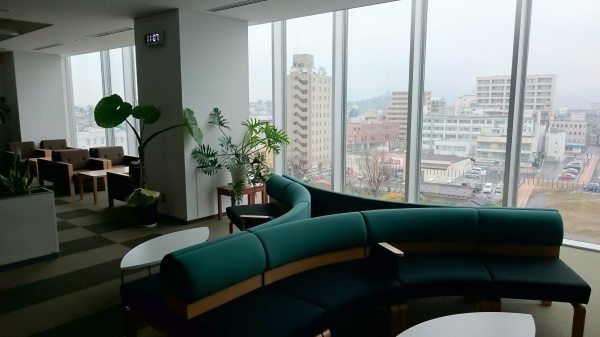 犬山市役所展望ロビー